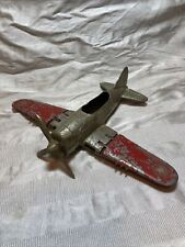 Hubley Kiddie Toy Plane U.S Army 4 Blade Prop Folding Wings Lancaster Pa. Usa