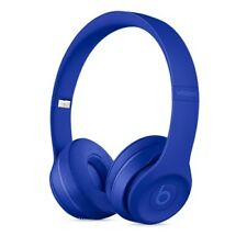 Beats by Dr Dre Solo 3 Wireless Bluetooth Blue Headphones NEW