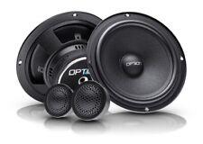Option-165 Auto-Lautsprechersystem 16,5cm 2-Wege Kompo System 3Ohm 70 Wrms Boxen