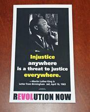 Jeff Wood Art Print Revolution Now 2008 Poster Dr Martin Luther King Jr. MLK Day