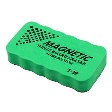 1x New Magnetic board Eraser Drywipe Marker Cleaner Office Whiteboard B4M7