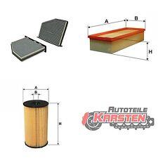 Set M: Innenraumfilter+Luftfilter+Kraftstofffilter Inspektionspaket AUDI SEAT VW