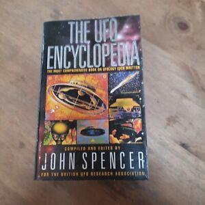 THE UFO ENCYCLOPEDIA a 1st Edition Paperback