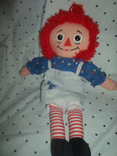"Playskool Raggedy Anne Rag Doll 19"" Plush Soft Toy Stuffed Animal"