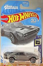 2018 Hot Wheels #79 HW Screen Time 8/10 ICE CHARGER The Fate of the Furious w/J5