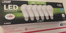 6x Feit Electric Led • 60 Watt/9.5W • Soft White • Dimmable • 2700K