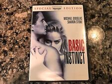 Basic Instinct DVD! 1992 Mystery Thriller! Fatal Attraction Jade Final Cut Chloe