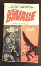 DOC SAVAGE DOUBLE 101/102 PHAROAH'S GHOST/TIME TERROR KENNETH ROBESON VG BANTAM