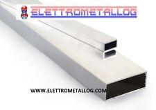 PROFILO TUBO RETTANGOLO IN alluminio LUNGHE 2 o 3 metri