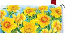Daffodil Flower Magnetic Mailbox Cover