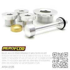 AEROFLOW ENGINE WELCH PLUG KIT V8 GEN 4 LS2 6.0L & LS3 [HOLDEN WL-WM-WN CAPRICE]