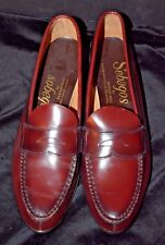 VTG Men's Sebagos Classic Penny Loafers 12AAA SEBAGO MOC NM Wine Slip-on Oxfords