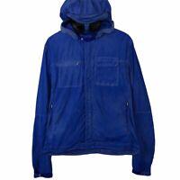 "CP Company Blue Baruffaldi Multi Pocket Sunglasses Goggle Jacket Size 50 PTP 22"""