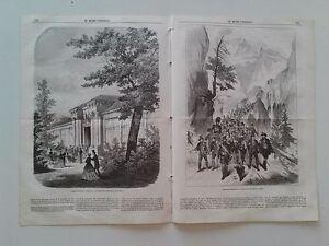 1866 El Museo Universal, Tiroleses marchando; Don Juan Bautista Antequera.....