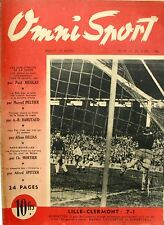 Omni Sport n°9 - 1946 - Foot Lille Clermont - Cliff Anderson - Schotte Cyclisme