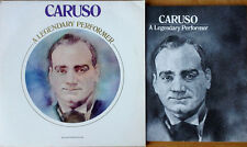 CARUSO - A LEGENDARY PERFORMER - LP WITH ILLUSTRATED BOOKLET - RCA - 1976