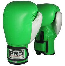 8oz Green Junior Boxing Gloves Kids Boxing Equipment Children Martial Arts