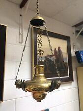 Large Brass Hanging Incense Burner
