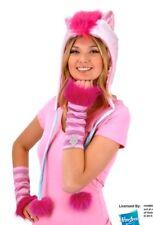 My Little Pony Pinkie Pie Laplander Beanie Hoodie Hat with Ears, NEW UNWORN