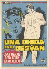 Programa de CINE. Título película: UNA CHICA EN EL DESVÁN.