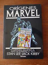 CAPITAN AMERICA ORIGENES MARVEL COMICS FORUM 1993