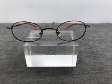 fbdb16fec094 Guess Eyeglasses 44-20-135 Metal Brown Oval Frame/ Orange/Brown Arms