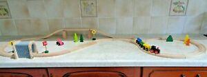WOODEN TRAIN SET, TRACK TRAIN & ACCESSORIES FITS  ELC  BRIO THOMAS IKEA  BIGJIGS
