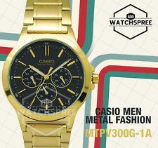 Casio Men's Standard Analog Watch MTPV300G-1A MTP-V300G-1A