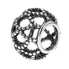 ORIGINALE Pandora Argento Sterling Bead S925 Perline Weave GABBIA Charm - 790978