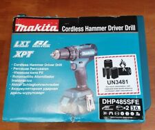 MAKITA DHP485SFE 18 V 3.0AH Li-Ion LXT BRUSHLESS Sans Fil Combi Perceuse