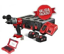 MILWAUKEE | M18FPD2 TRAPANO A PERCUSSIONE IN VALIGIA PACKOUT + OPZIONI/