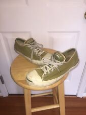Extremely Rare!! Vintage Converse Jack Purcell Green Size 10
