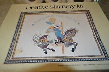 Hollie Hobbie Crewel Embroidery Kit 16 x 12 Sealed Sharing Makes Things More Fun