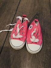 Converse Baby Size 2 Girl Pink Newborn