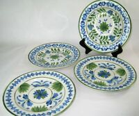 Williams Sonoma Aerin Lauder Ardsley Salad Plates Set of 4 NEW Beautiful Blues
