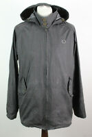 FRED PERRY GRey Light Jacket size 40""
