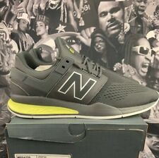 New Balance 247 Sport - Tritium Grey-Neon Black-white size 9.5 MS247TG