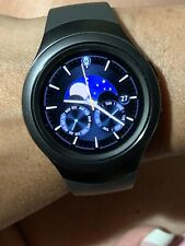 SAMSUNG GEAR S2 SMART WATCH SM-R750V Black ...