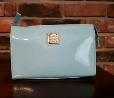 NWT Dooney and Bourke Janine Crossbody  Blue Patent Leather Handbag Purse