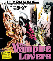 The Vampire Lovers BLU-RAY NEW