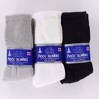 3 6 12 Pairs Diabetic Men Crew Circulatory Fittop Socks Health Cotton 9-11 10-15