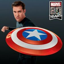 "Marvel Legends Series Captain America 24"" Lifesize Replica Shield Hasbro Cosplay"