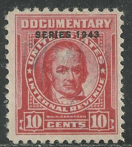 U.S. Revenue Documentary stamp scott r367 - 10 cent issue of 1943  #2