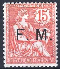 """FRANCE TIMBRE FRANCHISE MILITAIRE 2 """" MOUCHON 15c VERMILLON """" NEUF xx TTB  M430"""