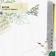 Madam - In Case Of Emergency (CD 2007) NEW & SEALED