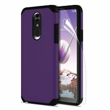 LG Stylo 4 Case Shockproof Dual Layer Hybrid Rugged Heavy Duty Protective Cover