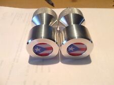 """Two hole pins Standard size. Puerto Rico Flag!  1/2"""" to 1-5/8"""""""