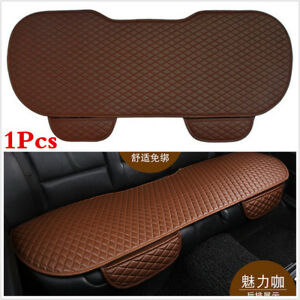 1XNew PU Leather Car Rear Back Row Seat Cover Cushion Protector Non-slip Pad Mat