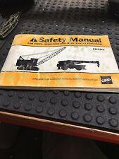 Cima Crane Safety Manual