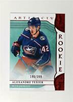 2019-20 UD Artifacts Ruby Rookies #171 Alexandre Texier /399